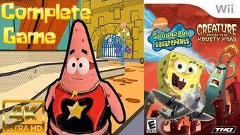SpongeBob - Creature from the Krusty Krab Wii Longplay