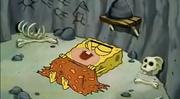 SpongeGar Sleeping