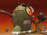 Plankton's Freaky Robot Battle Suits