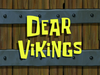 Dear Vikings title card