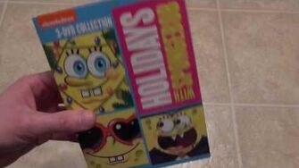Holidays with SpongeBob DVD Unboxing