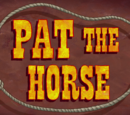 Pat the Horse (gallery)