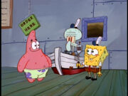 SpongeBob,SquidwardandPatrickinHelpWanted
