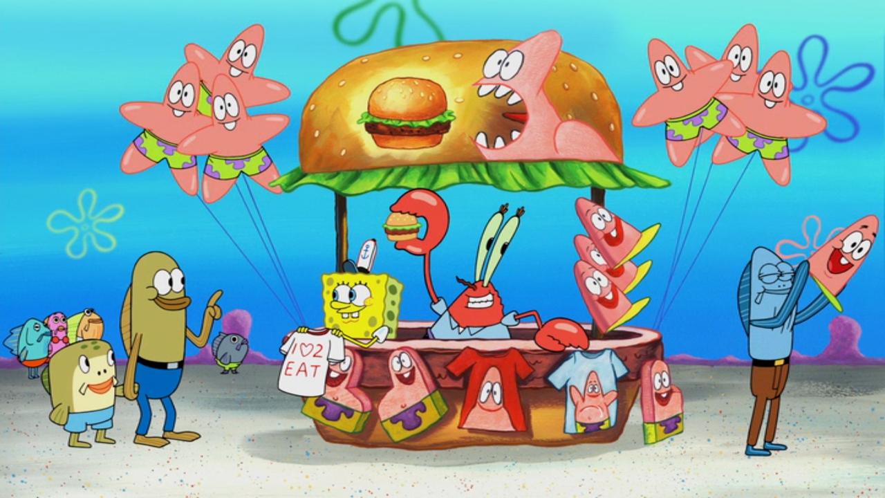 spongebob squarepants whats eating patrick full episode