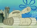 A sand tank