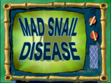 Mad Snail Disease