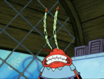 Mr. Krabs with Withered Eyes