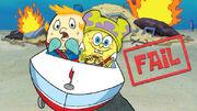 Nickelodeon SpongeBob SquarePants Mrs. Puff and SpongeBob Promotional Image Nick com