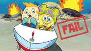 Nickelodeon SpongeBob SquarePants Mrs. Puff and SpongeBob Promotional Image Nick com