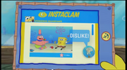 SpongeBob Checks His Instaclam 10
