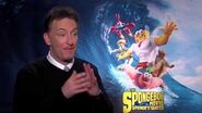"The Spongebob Movie Sponge Out Of Water Tom Kenny ""SpongeBob"" Official Interview"