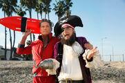 David-Hasselhoff-and-Patchy-The-Pirate-Tom-Kenny-SpongeBobs-Big-Birthday-Blowout-Special-SpongeBob-SquarePants-Nickelodeon-Nick-SBSP-Press 1