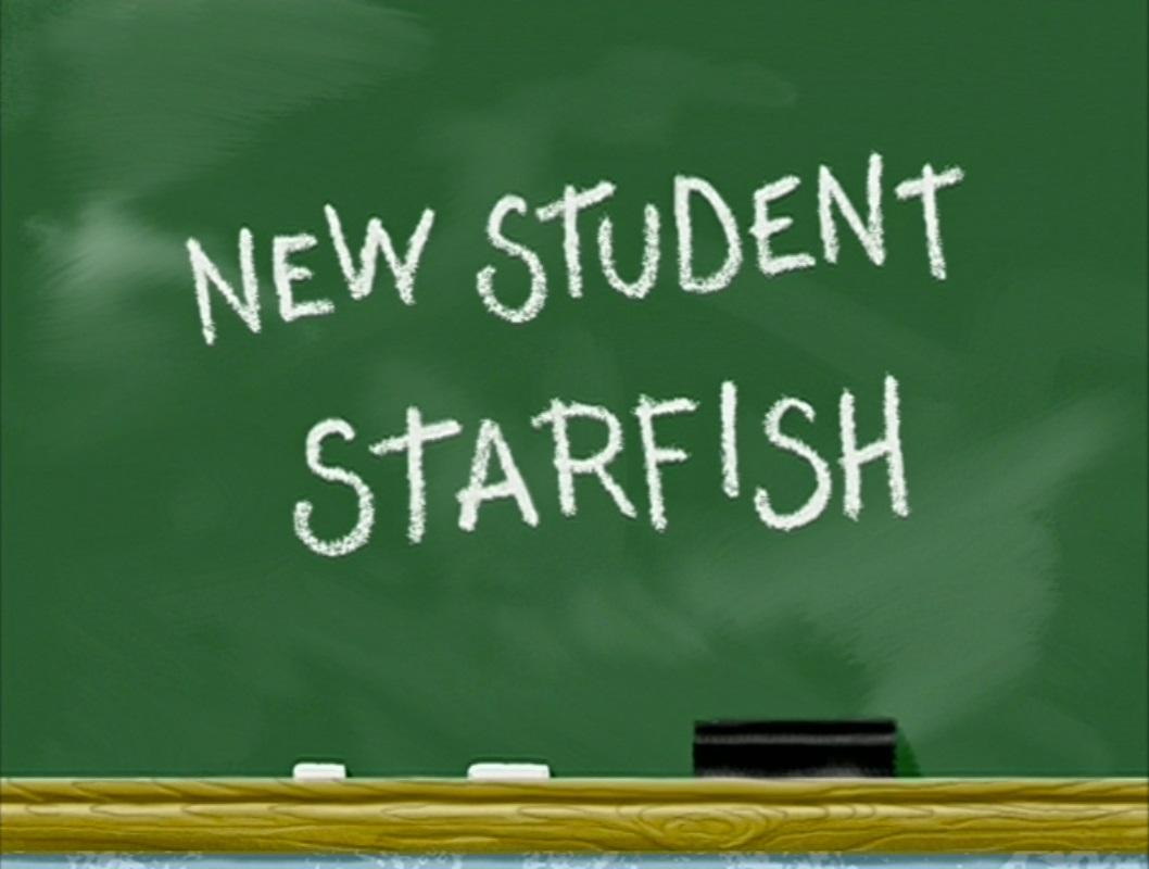 New Student Starfishtranscript Encyclopedia Spongebobia Fandom