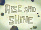 Rise and Shine title card