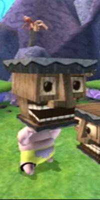 3D Patrick & 1 Tiki Head Box
