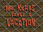 Mr. Krabs Takes a Vacation title card