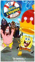 The SpongeBob SquarePants Movie French VHS
