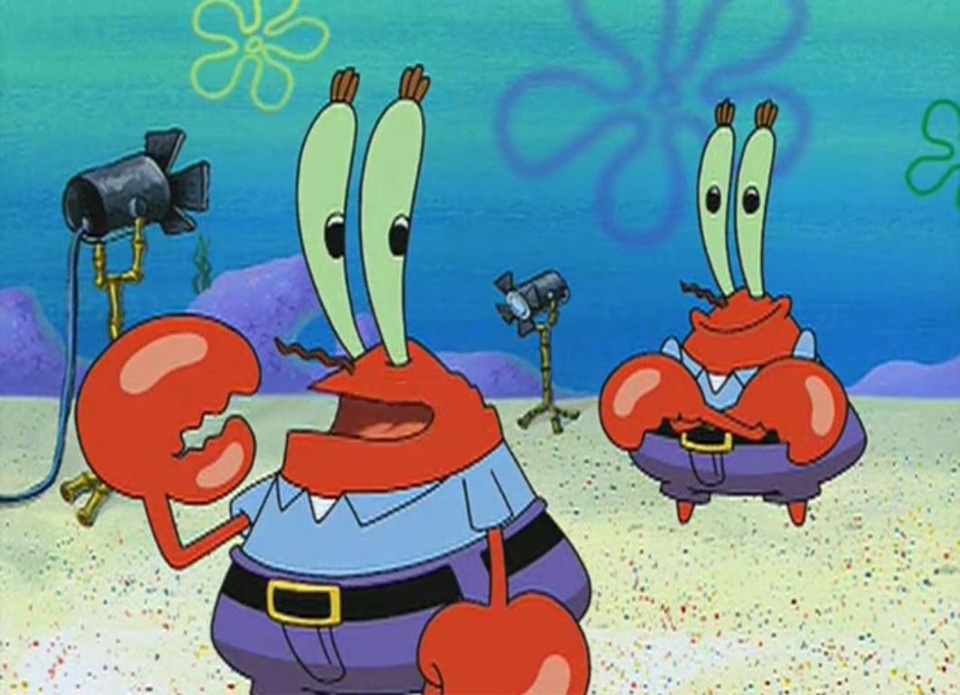 Mr Krabs Double Encyclopedia Spongebobia Fandom