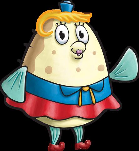 File:SpongeBob SquarePants Mrs. Puff Character Image Nickelodeon Painted Version.png