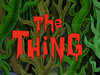 The Thing title card