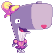 SpongeBob SquarePants - Pearl pixel art from Nick promo