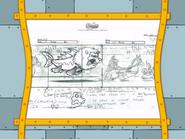 Spongicus storyboard panels-3