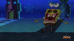 Present Falling on SpongeBob 22 Minute Birthday Blowout