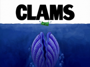 Clams title card