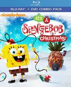 Its A SpongeBob Christmas Blu-Ray