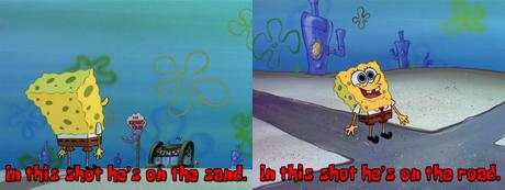 SpongeBob teleported!
