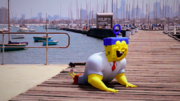 Sponge Out of Water animation test 007