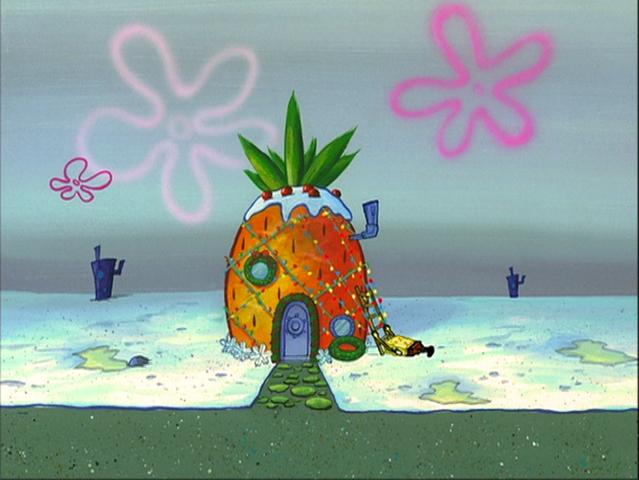 File:SpongeBob's pineapple house in Season 2-4.png