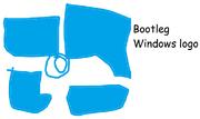 Bootleg windows logo