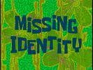 Missing Identity