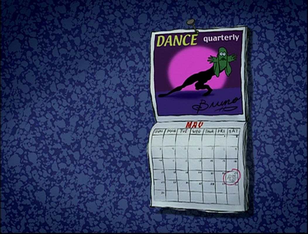 Episode Calendar.Squidward Tentacles House Gallery The Camping Episode