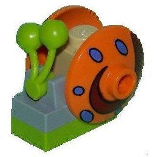 - MINI FIG // MINI FIGURE GARY THE SNAIL Pink Shell LEGO SPONGEBOB