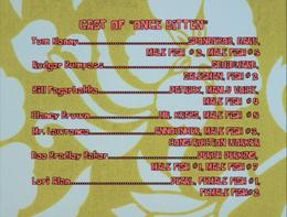 Once Bitten Credits