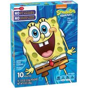 SpongeBob Betty Crocker fruit snacks