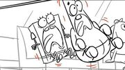 SpongeBob SquarePants Storyboard - SpongeBob's Big Birthday Blowout Part 2