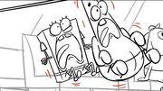 SpongeBob SquarePants Storyboard - SpongeBob's Big Birthday Blowout Part 2