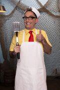 Tom Kenny as JimBob at The Trusty Slab