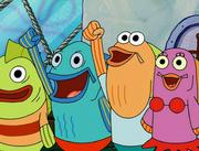 Sandy, SpongeBob, and the Worm 065