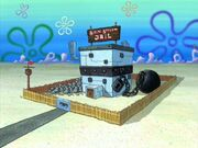 The Bikini Bottom Jail