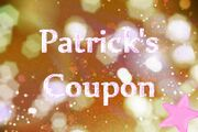 Fanmade title-card for Patricks Coupon