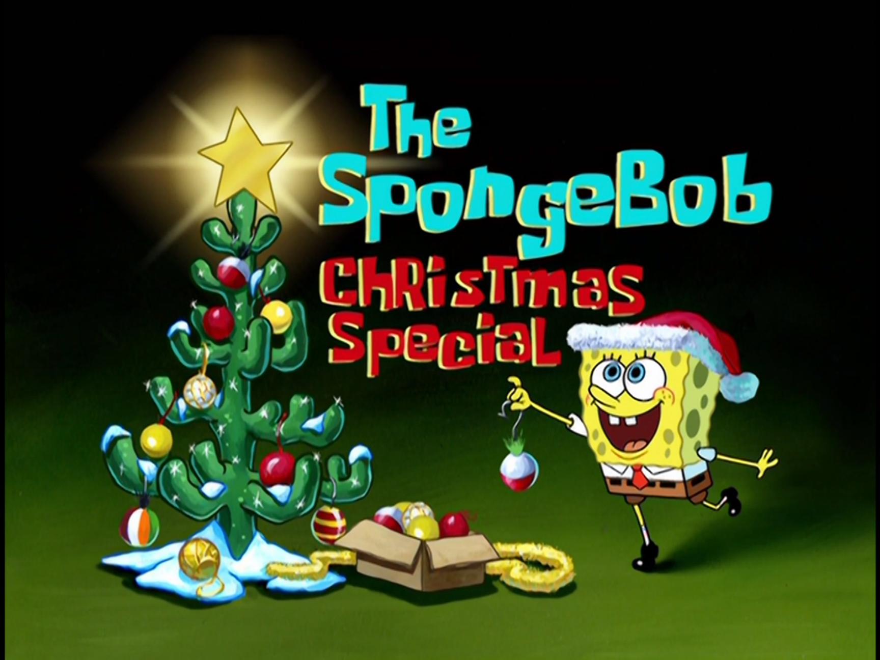 its a spongebob christmas specialpng