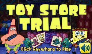 Toy Store Trial - New title screen