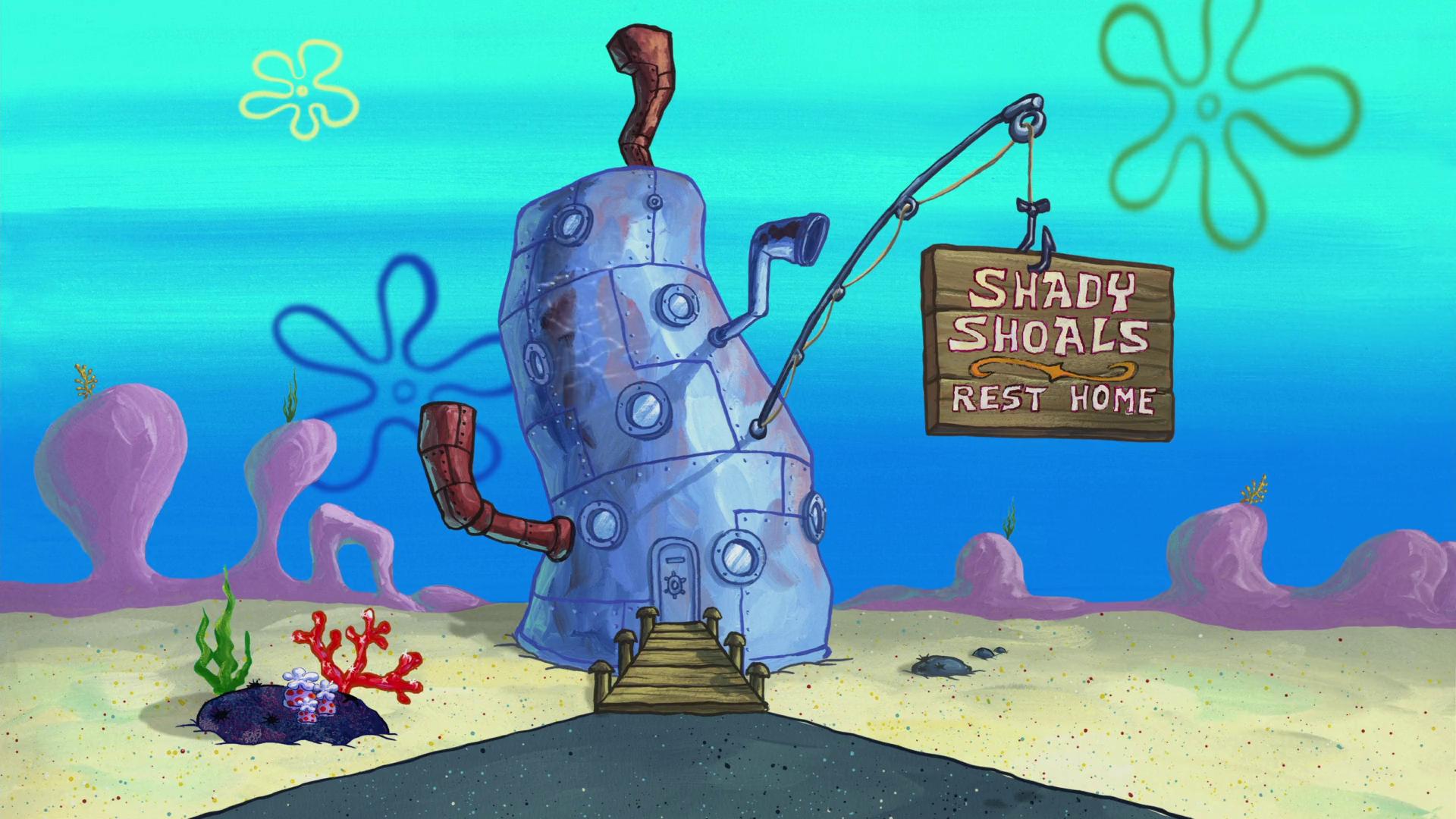 Brand-new Shady Shoals Rest Home | Encyclopedia SpongeBobia | FANDOM powered  WX55