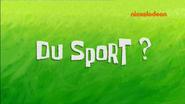 S10E16 Du sport