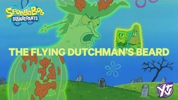 SpongeBob Iconic Moment The Flying Dutchman's Beard YTV