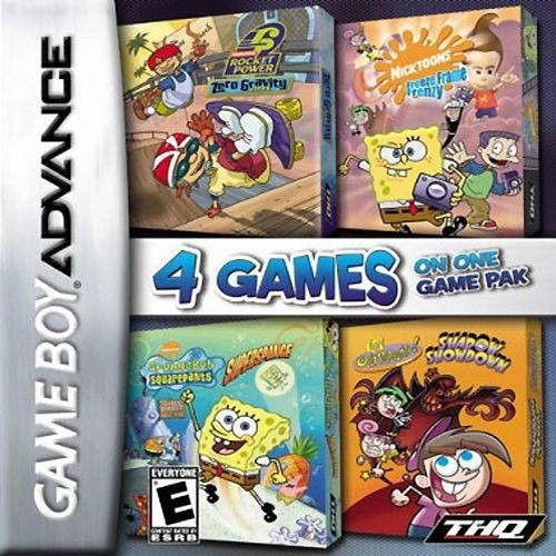 Download 2714 – 4 Games On One Game Pak – Nickelodeon (U) GBA Rom